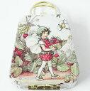 ミニバッグ缶 フラワーフェアリーストロベリー[Cicely Mary Barker]980-823シシリーメアリーバーカー妖精