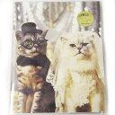 フリーアルバム キャット ウェディング [ORANGE AIRLINES]730-043-49オレンジエアラインズ猫 ねこ ネコ CAT キャット
