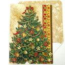 [Punch Studio]2010クリスマスカード クリスマスツリー★デザイン封筒付き★ パンチスタジオシーズンカード