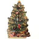 Punch Studio クリスマス スモールカード クリスマスツリーパンチスタジオメッセージ ギフトカード