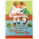 Punch Studio クリスマスカード Reading Bookパンチスタジオ クリスマス