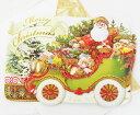 [Punch Studio]クリスマスカードL  サンタズ カーパンチスタジオ 2010クリスマスシーズンカードグリーティング・カード・ギフト