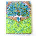 ノートパッド ミニメモ 青い孔雀パンチスタジオ クジャク くじゃく 鳥 とり トリ バード