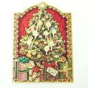 Punch Studio クリスマスカード731-901★ツリーオブプレゼント★封筒付き 2012クリスマスコレクション パンチスタジオ立体メッセージカード