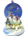 ポップアップ グリーティン・OカードS クリスマスコテージ[Up With Paper]立体クリスマスカードクリスマスポップアップカード