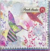 [Punch Studio]#22パンチスタジオ ペーパーナプキン[メール便OK]●カクテルサイズ●2羽の鳥エッフェル塔