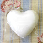 デコパージュ用 ハート石鹸 在庫常備石鹸デコパージュ材料ラベンダー石鹸