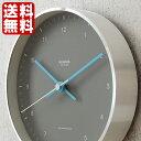 レムノス Lemnos 電波時計 掛け時計 置き時計 ミズイロ MIZUIRO 200mm ステップムーブメント おしゃれ 北欧 電波 時計 壁掛け 壁掛け時計 置時計 卓上 掛け 置き 両用 デザイナーズ