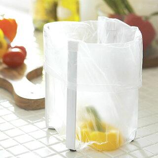 【tower】POLYBAGHOLDERポリ袋エコホルダー牛乳パック/ペットボトル/リサイクル/エコ/ゴミ箱/キッチン用品/キッチン小物/ポリ袋ホルダー