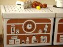 【倉敷意匠計画室】ディスプレイしたくなるかわいいキッチンミニキッチン ダンボールボックス