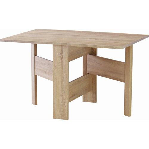 開梱設置が選べる 折りたたみダイニングテーブル フィーカ 幅120cm ★