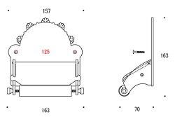 トイレペーパーホルダー・トイレットペーパーホルダー:g-6g4030k1
