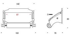 トイレペーパーホルダー・トイレットペーパーホルダー:g-6g4032k2