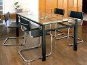 ダイニングテーブル ガラステーブル オフィステーブル ミーティングテーブル 会議テーブル 会議机 オフィステーブル リゾートテーブル ガラス 硝子 ガラス天板 天板ガラス