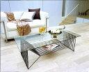 センターテーブル ガラステーブル リビングテーブル コーヒーテーブル リゾートテーブル ガラス 硝子 ガラス天板 天板ガラス ガラストップ おしゃれ