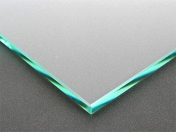 ガラス 板ガラス(長方形 正方形)国産の硝子 板硝子(板厚6ミリ) 糸面取り加工(面取り幅1〜2ミリ)