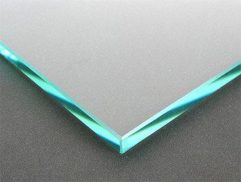 ガラス 板ガラス(長方形 正方形)国産の硝子 板硝子(板厚8ミリ) 糸面取り加工(面取り幅1〜2ミリ)