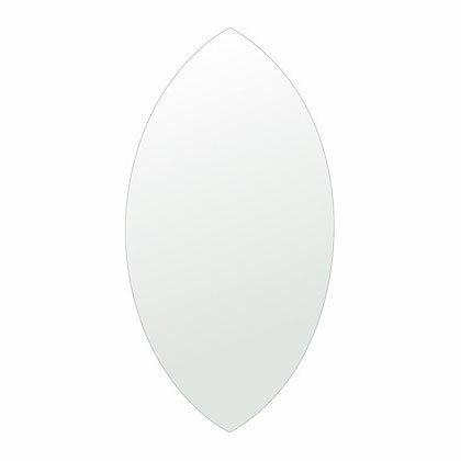 トイレ鏡 洗面鏡 化粧鏡 浴室鏡 クリスタルミラー シリーズ:cdx-marquise310x600-km(マーキーズ)(クリアーミラー シンプルタイプ)( 鏡 壁掛け 鏡 姿見 壁掛けミラー ウォールミラー )