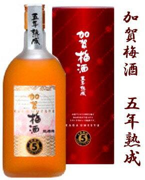 萬歳楽 加賀梅酒 五年熟成 720ミリ【楽フェス_ポイント2倍】