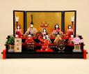 雛人形 K420木目込み人形飾り 真多呂作【ひな人形】【人形の佳月】【送料無料】【段飾り】【高級品】