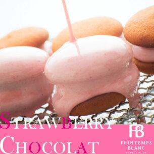 バレンタイン スイーツ ストロベリー チョコレート マシュマロ クッキー プレゼン