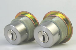 (4) Replacement cylinder for LIX WEST replace cylinder, two identical keyset