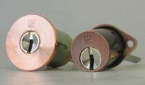 (1)+(2)WESTリプレイスシリンダー飾り錠タイプ交換用シリンダー
