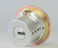 (1) MUL-T-LOCK LIX用 玄関 鍵(カギ) 交換 取替えシリンダー■標準キー3本+合鍵1本付き■【送料無料】