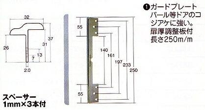 5 Model T guard plate SM-105 silver