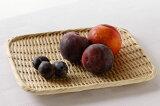ふだん使い、干し野菜にも便利です特選 角盆ざる(竹ざる 水切りザル) 約24×30cm