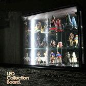 【家具】 コレクションボード 幅110 LEDライト付き ワンピースフィギア コレクションケース 背面ミラー キュリオケース コレクションボックス フィギア ケース コレクションラック 飾棚 ガラスケース ガラスショーケース 家具通販 大川市