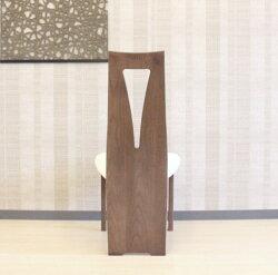 天然木タモ無垢材ダイニングチェアー国産北欧モダン・ウォールナット・ハイバック・積層合板・成形合板・オーダーメイド