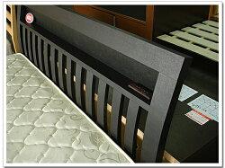 ワイドダブルベッドすのこベッド2個口コンセント付/ダークブラウン木製ベッドフレームシンプルデザイン