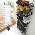 シューズラック 送料無料 つっぱり スリム 伸縮 省 スペース スチール 30cm すきま 玄関収納 ブーツ 靴 くつ 傘 スリッパラック 下駄箱 シューズボックス 靴箱 スタンド 薄型壁面収納 おしゃれ あす楽対応
