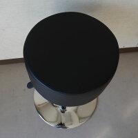 厚いクッションカウンターチェアーロータイプブラック(2014年春の新製品)【あす楽対応】丸椅子バーチェアハイチェア昇降カウンターチェアバーチェアー回転チェアーハイチェアー黒
