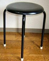 【送料無料】丸椅子(黒)10脚セット日本製64%OFFセール工場直販SALE新築祝い開店祝い即納OK