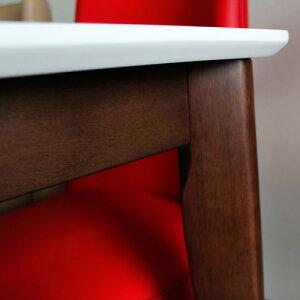 ダイニングセット5点パラダイス ダイニングテーブル5点セットホワイト鏡面ダイニングテーブルセット回転椅子白鏡面テーブル木製天然木無垢カフェカフェ風モダンおしゃれ送料無料02P08Feb15