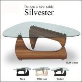 コーヒーテーブル ガラステーブル センターテーブル デザイナーズ風 リビングテーブル ローテーブル コーヒーテーブル モダン ガラス コーヒー テーブル おしゃれ テーブル ガラス デザイン 強化ガラス オシャレ 人気 おしゃれ 大人 ルーク LUKE シルヴェストル