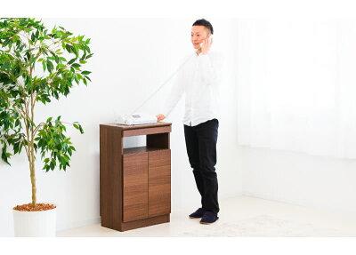 ゴールデン家具シリーズのスリムなFAX台です。
