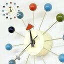 ジョージネルソンデザイン ボールクロックCL-09 ネルソン クロック リプロダクト商品 デザイン時計 壁掛け時計 壁時計 ウォールクロック 北欧 復刻 デザイナーズ リプロダクト ジェネリック レプリカ AWL 送料込み 新生活
