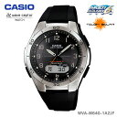 CASIO〔カシオ〕腕時計 ソーラー電波時計 WAVE CEPTOR WVA-M640-1A2JF【D】