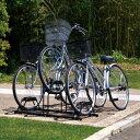 【緊急値下げ】自転車スタンド BYS-3 ブラック ストッパー 駐輪 屋外収納 【アイリスオーヤマ】...