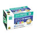 【D】《4色パック》エコリカエプソンリサイクルインクECI-E324P/BOX EPSON ecorica カートリッジ 年賀状 プリンター 印刷 【取寄せ品】