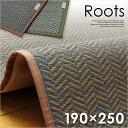 国産 い草カーペット Roots(ルーツ) 約190×250...