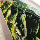 【中国段通 ウール】「万里の長城」絨毯(じゅうたん)・カーペット・ラグ・掛け軸・タペストリー・毛(ウール)100%・約243.7×150cm...