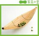 【国産】穏やかなココロを感じる竹のトレー【HULL】
