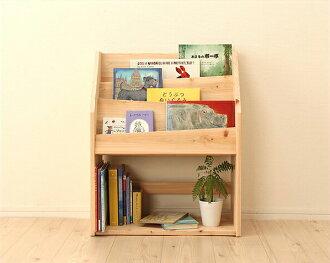 扁柏香固體書籍書架時尚時尚孩子架木制兒童孩子孩子房間自然兒童牆顯示書機架 3 階段雜誌架白雪松書櫃存儲房子傢俱內部存儲貨架完成簡單