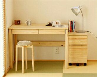 聾人系列的日本柏樹照明桌學習桌兩個設置服務台 M 大小 + 馬車消息和名稱可能學習桌研究表兒童孩子房間時尚簡單現代大會柏樹男孩女孩堅實的書桌台