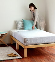 広島の家具職人が手づくり桐のすのこベッドセミダブルサイズ(ヘッドレス)フレームのみ【すのこベッドすのこベットスノコベッドベットおしゃれシンプルセミダブル国産日本製北欧モダンセミダブルベッドセミダブルベットスノコベッド】