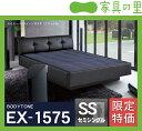 特価フレームウォーターベッドハードサイド セミシングルサイズ(1バッグ)BODYTONE-EX1575